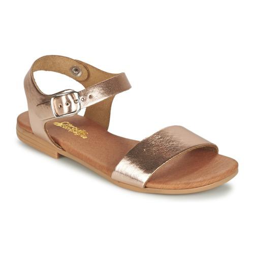 Chaussures Fille Sandales et Nu-pieds Citrouille et Compagnie JOUBI Cuivre