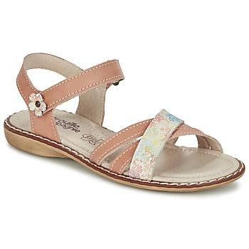Chaussures Fille Sandales et Nu-pieds Citrouille et Compagnie JANDOLI Nude