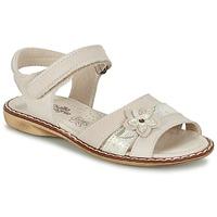 Chaussures Fille Sandales et Nu-pieds Citrouille et Compagnie ANDALIA Beige