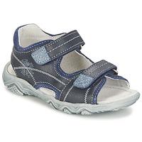 Chaussures Garçon Sandales et Nu-pieds Citrouille et Compagnie RAMTIGA Bleu