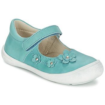 Chaussures Fille Ballerines / babies Citrouille et Compagnie MELINA BIS Bleu