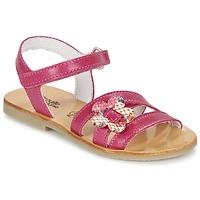 Chaussures Fille Sandales et Nu-pieds Citrouille et Compagnie CHOUPINETTE Fushia