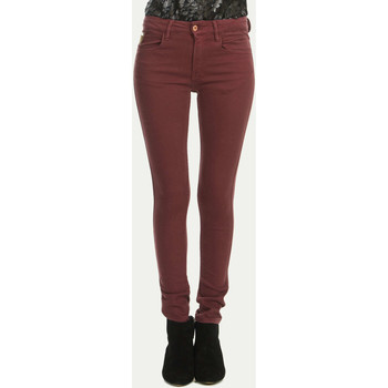Vêtements Femme Jeans slim April 77 Jeans  Jett Flesh Slim Bordeaux Femme Bordeaux