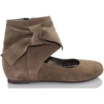 Chaussures Femme Ballerines / babies Paco Herrero TUCSON BRUN