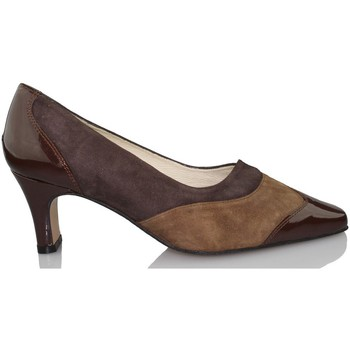 Chaussures Femme Escarpins Sana Pies SANAPIES CHAROL MOKA BRUN