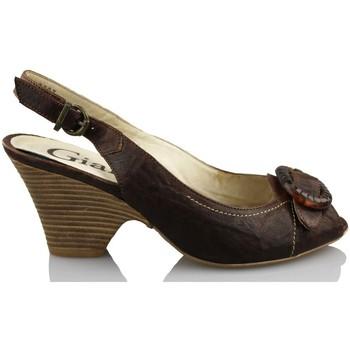 Chaussures Femme Sandales et Nu-pieds Giana Di Firenze GIANNA DI FIRENZE ETRUSCO BRUN