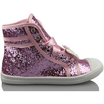 Chaussures Fille Baskets montantes Hello Kitty CAMOMILLA MILANO GLIPPER ROSE