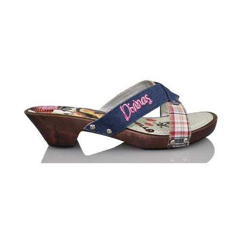 Chaussures Fille Sabots Patito Feo Vilain petit canard divine BLEU