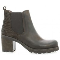 Chaussures Femme Bottines Pao Boots cuir nubuck Marron