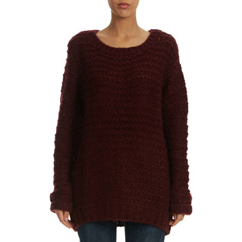 Pulls LTB Pull Grosse Maille Fitiso  Lie De Vin