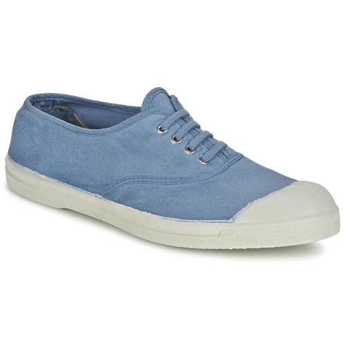 Bensimon TENNIS LACET Bleu - Chaussures Baskets basses Femme