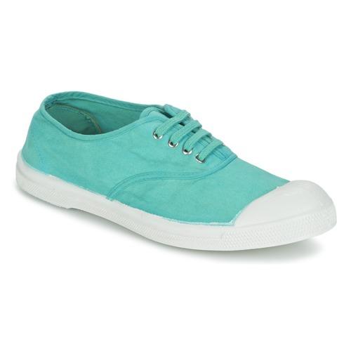 Chaussures Femme Baskets basses Bensimon TENNIS LACET Turquoise