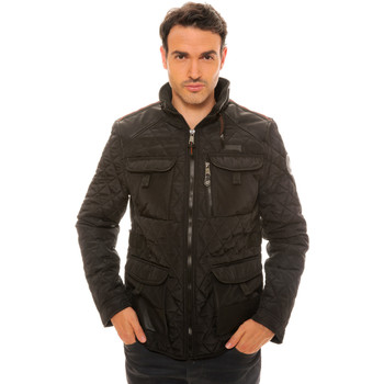 Vêtements Homme Doudounes Geographical Norway Doudoune Alfy Noir