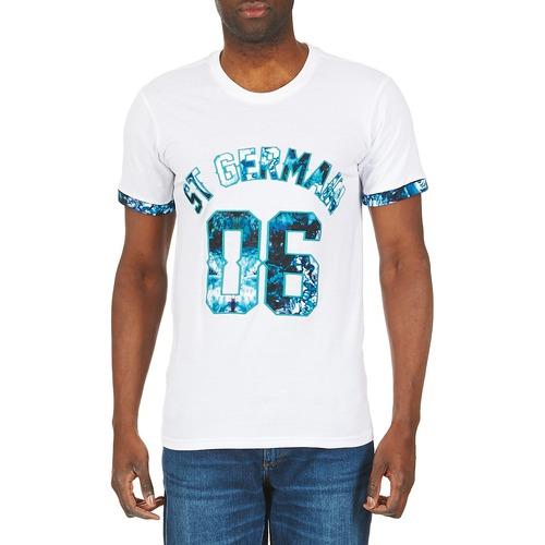 Eleven shirts Blanc Manches Homme T Paris Tomain Courtes iZXuPk