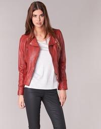 Vêtements Femme Vestes en cuir / synthétiques Oakwood 60861 Rouge