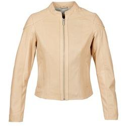 Vêtements Femme Vestes en cuir / synthétiques Oakwood 61848 Beige nude