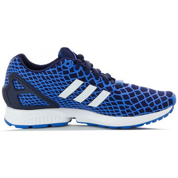 Chaussures Garçon Baskets basses adidas Originals ZX Flux Tech Fit Junior - Ref. B25659 Bleu