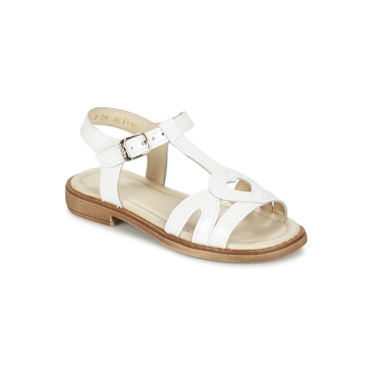 Sandale Aster TCHANIA Blanc