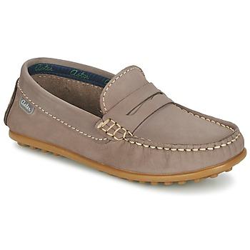 Chaussures Garçon Mocassins Aster MOCADI Beige