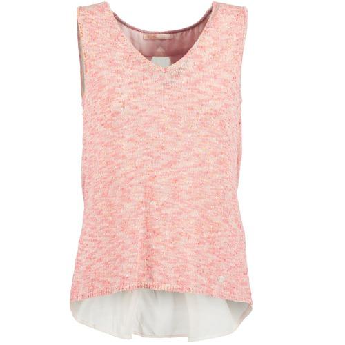 Vêtements Femme Débardeurs / T-shirts sans manche LPB Woman NODOLA Corail