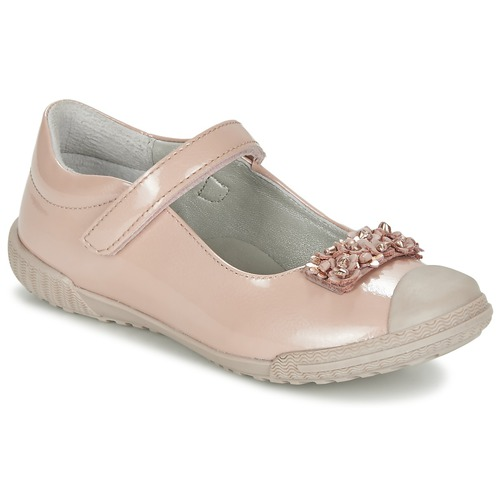 Chaussures Fille Ballerines / babies Mod'8 KOM Rose poudré