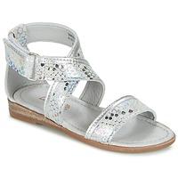 Chaussures Fille Sandales et Nu-pieds Mod'8 JOYCE Argent