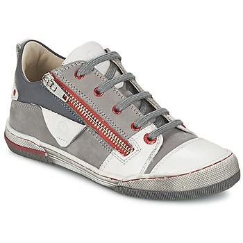 Chaussures Garçon Baskets basses Mod'8 ZORAN Gris