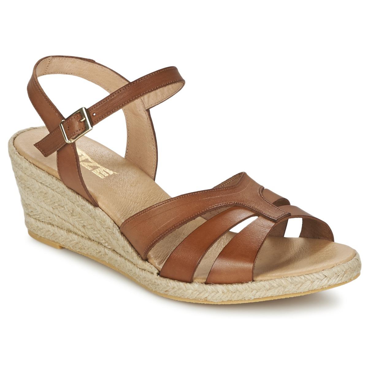 Sandale So Size ELIZA Marron