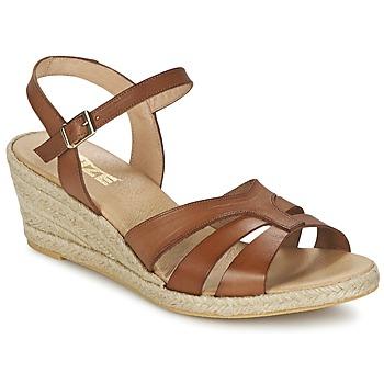 Sandale So Size ELIZA Marron 350x350