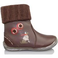 Chaussures Fille Bottines Lea Lelo LEA LEO DRESSY TESTA DI M BRUN