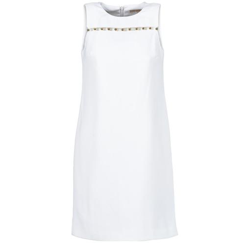 Vêtements Femme Robes courtes MICHAEL Michael Kors MS68W2L3GZ Blanc