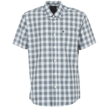 Chemises Quiksilver EVERYDAY CHECK SS Bleu 350x350