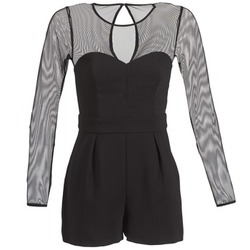 Vêtements Femme Combinaisons / Salopettes BCBGeneration CHARLOTTE Noir