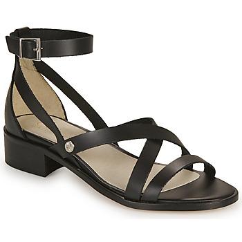 Chaussures Femme Sandales et Nu-pieds Casual Attitude COUTIL Noir