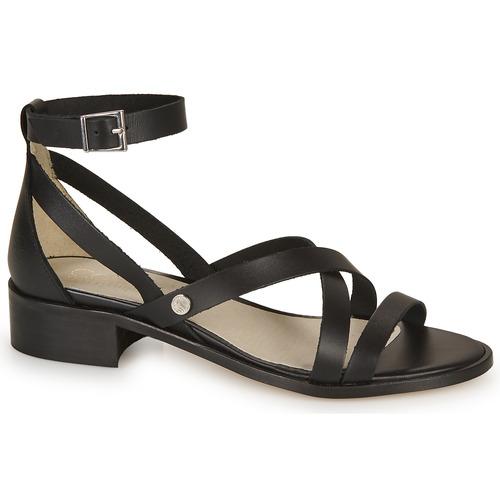 Femme Nu Coutil pieds Noir Casual Et Sandales Attitude BCredxo