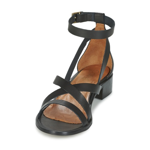 Nu pieds Sandales Et Coutil Noir Attitude Casual Femme UMpqSzVLG