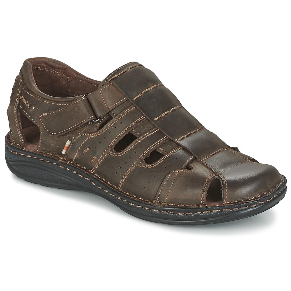 Casual Attitude ZIRONDEL Marron - Livraison Gratuite avec - Chaussures Sandale Homme
