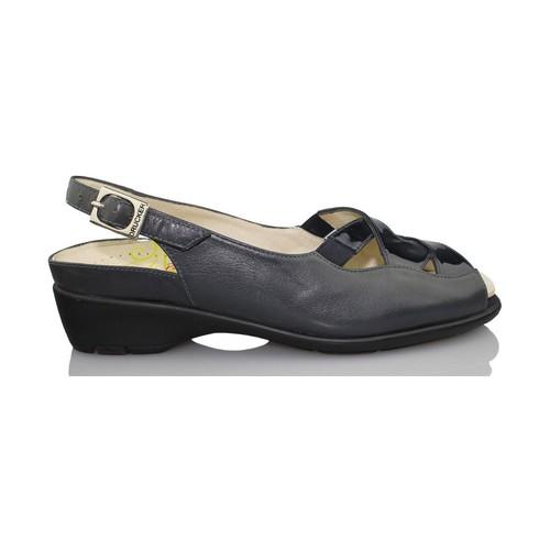 Drucker Calzapedic orthopédique femme de chaussures BLEU - Chaussures Sandale Femme