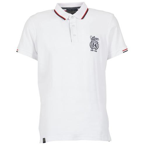 Vêtements Homme Polos manches courtes Best Mountain CADLY Blanc