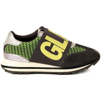 Chaussures Femme Baskets basses Fornarina GREY YELLOW MESH  77,9