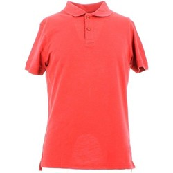Vêtements Homme Polos manches courtes City Wear THMU5191 Polo Man Rouge Rouge