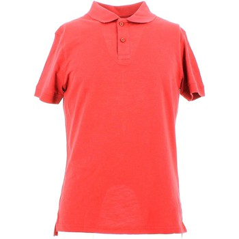 Vêtements Homme Polos manches courtes City Wear THMU5191 Polo Man Rouge