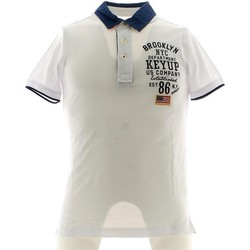 Vêtements Homme Polos manches courtes Key Up 054S 0001 Polo Man nd