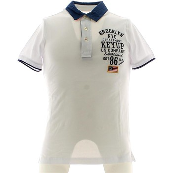 Vêtements Homme Polos manches courtes Key Up 054S 0001 Polo Man nd nd