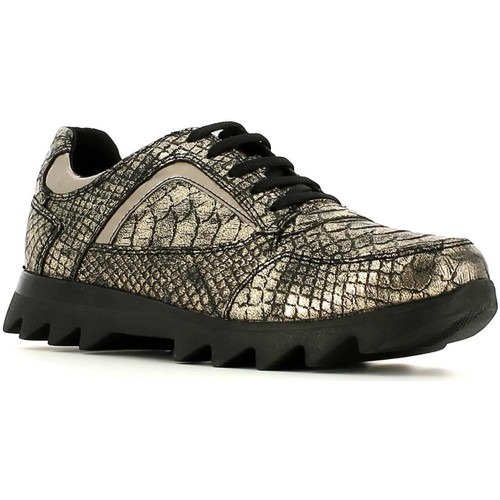 Chaussures Femme Baskets basses Stonefly 105506 Sneakers Femmes Or Doré