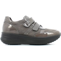 Chaussures Femme Baskets basses Enval 4992 Scarpa velcro Femmes Taupe Taupe