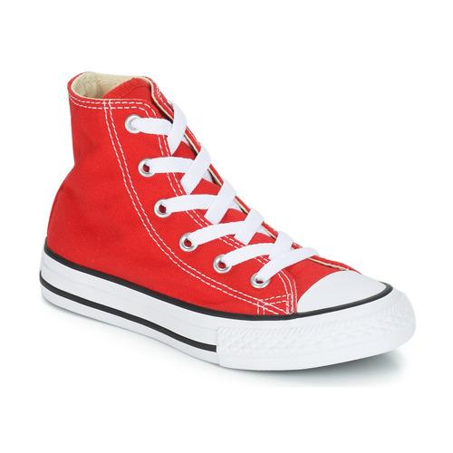 Chaussures Enfant Baskets montantes Converse CHUCK TAYLOR ALL STAR CORE HI Rouge