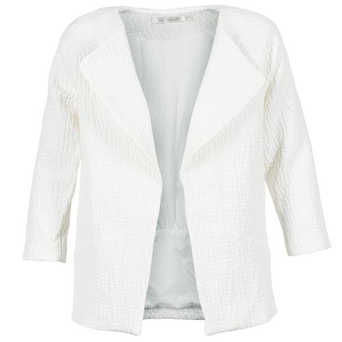Vêtements Femme Manteaux See U Soon DACKA Blanc