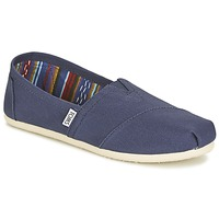Chaussures Femme Slip ons Toms CLASSICS Marine