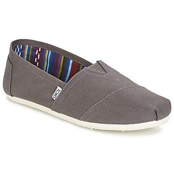 Chaussures Homme Slips on Toms SEASONAL CLASSICS Gris